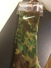 Nike Pro Combat Amplified Football  Towel Camo/Military New with tag Cotton