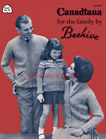 Canadiana for the Family, Knitting Ideas, Beehive Pattern Book No.93 on CD