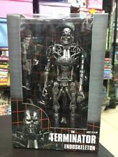 "Terminator T-800 Endoskeleton 7"" Action Figure Arnold Schwarzenegger Model"