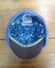 Harris Tweed Bakerboy Berretto, Cappello da Strillone Cappello, XL 61-62 cm (Heather)