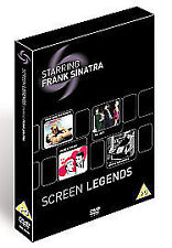 Screen Legends - Starring Frank Sinatra (DVD, 2006, 4-Disc Set, Box Set)