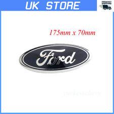 Blue Oval Badge Front Back Bonnet Emblem For Ford Transit Ka Focus Fiesta C-Max