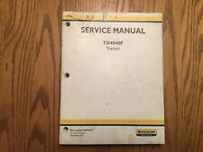 New Holland TD4040F Tractor Service Shop Repair Workshop Manual Dealer