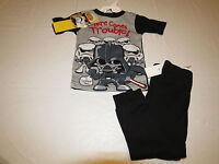 Boy's toddler youth Star Wars 2 piece sleepwear set PJ pants shirt 3T black
