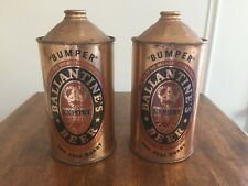 New ListingPair of Vintage 1940 Ballantine Cone Top Beer Cans - Excellent Condition