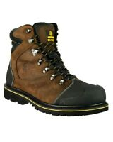 Amblers FS227 Brown Composite Waterproof Safety Boot