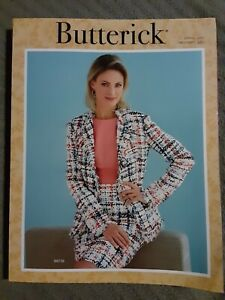 BUTTERICK Spring 2020 sewing pattern counter book catalog VG Condition 500pgs