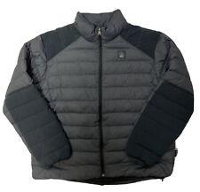 Alaskan Hardgear Duluth Goose Down Winter Puffer Jacket Men's XL New *Flaw*