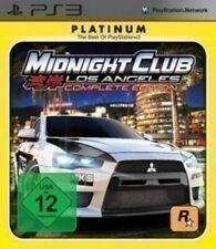 PS3 Juego-medianoche CLUB: los Angeles #Complete Edición [Platinum] en/ger en Caja