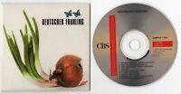 CBS Promo-CD Sampler 1989 DEUTSCHER FRÜHLING 9-track NENA Rio Reiser SAMPCD 1390