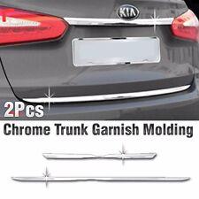 Chrome Trunk Rear Garnish Molding Trim C756 For KIA 2013-2017 Forte Cerato K3