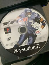 Madden 07 PS2 No Case