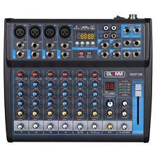 GLEMM MXP 08 - Mixer microfonico 8 canali