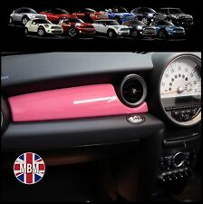 BMW MINI Cooper/S/ONE R55 R56 R57 R58 R59 PINK Dashboard Panel Covers UK models