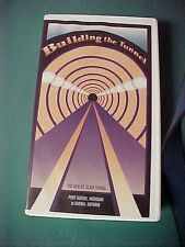 """CN-North America Railroad VCR Tape-""""Building the Tunnel-The New St Clair Tunnel"""""""