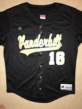 Vanderbilt Commodores Baseball Jersey MEDIUM #16 ~ Champion Brand
