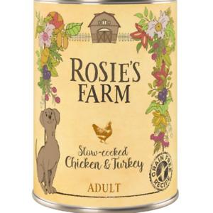 Rosie's Farm Wet Dog Food x 12 - 8 Pack Varieties