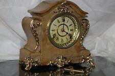 ANTIQUE SETH THOMAS SHELF MANTLE CLOCK-Totally!!-Restored- c/1899