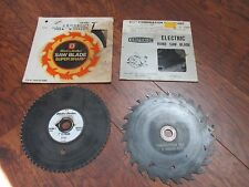 vintage saw blades black and decker and companion