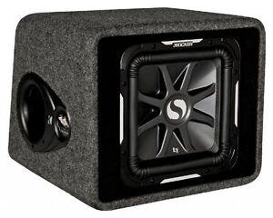 Kicker L7 Bass Reflex Box VS12L72 Subwoofer