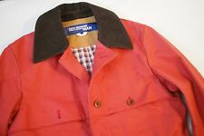 Junya Watanabe Man Comme des Garcons Red Wax Cotton Work Jacket Japan Mens L