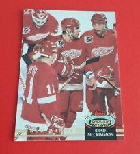 1992/93 Topps Stadium Club Hockey Brad McCrimmon Card #21***Detroit Red Wings***