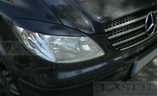 Mercedes VITO VIANO Eyebrows, genuine ABS plastic, Van