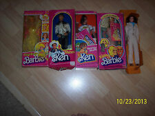 Barbie Doll Lot 5 1978 through 1980