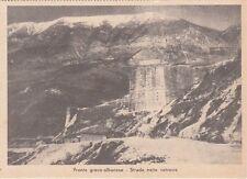 A4181) WW2, GRECIA, STRADA NELLE RETROVIE.