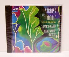 RICHARD STRAUSS,  LUDWIG THUILLE,  CELLO SONATAS,  CD, BRAND NEW