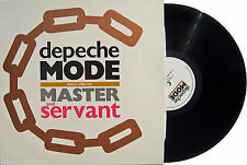 "DEPECHE MODE 12"" Master And Servant BRONZE Coloured Chains SLAVERY WHIP Mix '84"