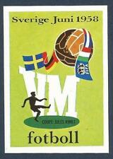 PANINI WORLD CUP STORY #013-SWEDEN 1958 LOGO