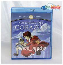 Whispers of the Heart Ghibli - Susurros del Corazón Blu-Ray en ESPAÑOL LATINO
