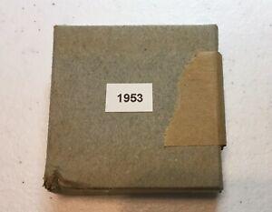 1953 U.S. Mint Silver Proof Set with Original Box & Tissue.