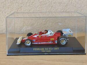 Ferrari 312 T2 1977 Gilles Villeneuve test Vallelunga Formula 1 IXO 1/43