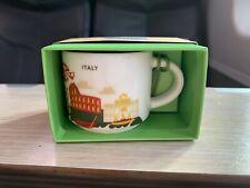 New Starbucks YAH ornament mug Italy