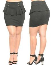 Viscose Cocktail Mini Skirts for Women