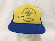 trucker hat baseball cap Junior Leader Orientation retro vintage rare rave nice