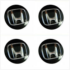 4Pcs  BLACK WHEEL HUB CENTER CAPS FOR HONDA ACCORD CIVIC PILOT Odyssey CRV 69mm