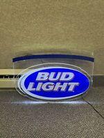 Vintage BUD LIGHT ICONIC NEON LIGHTED BEER SIGN Budweiser Anheuser-Busch Lite