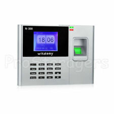 More details for employee clocking in machine with fingerprint recognition usb - excel download