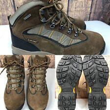 Mens HI-TEC 'Cape Trail' Brown Waterproof Leather Steel Toe Boots SIZE 11 EU 44