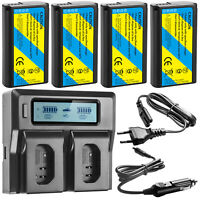 DMW-BLJ31 Battery Or Dual Charger for Panasonic LUMIX S Series S1 S1RS1H Camera