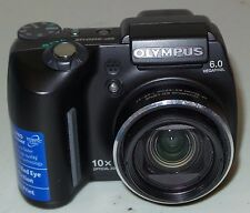Olympus SP-500 UZ Ultra Zoom 6MP Digital Camera with 10x Optical Zoom *VERY GOOD