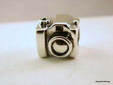 NEW/TAGS AUTHENTIC PANDORA SILVER CHARM CAMERA BEAD #790961  RETIRED