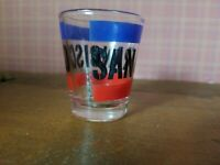 SHOT GLASS - San Francisco Red Blue