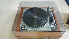 Thorens TD124 turntable vinyl player Audiophile Fully Restored tonearm.MINT