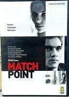 WOODY ALLEN - MATCH POINT (2005)  con Scarlett Johansson - DVD USATO MEDUSA