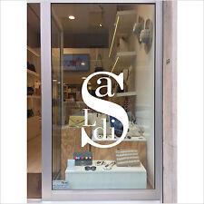 vetrofanie saldi estate inverno adesivo vetrine negozio sconti offerta a0428