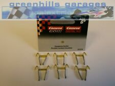 Greenhills Scalextric Carrera  Go!!! double contact brushes / braids x 6 - NE...
